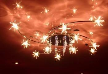 Освещение, натяжные потолки: непередаваемая игра света