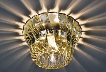 Хрустальный светильник потолочный модерн