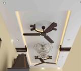 Форма потолка из гипсокартона – многообразие оригинальных решений