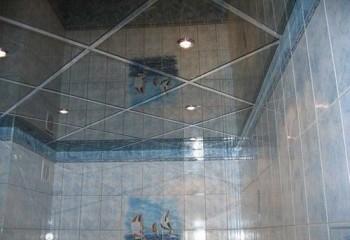 Подвесная конструкция для ванной комнаты