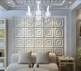 Мягкие панели в отделке потолка и стен – старина в современных интерьерах