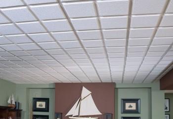 Монтаж плит с зазором так же улучшает акустику в помещении