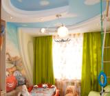 Освещение потолка из гипсокартона: светодиодные лампы и светильники