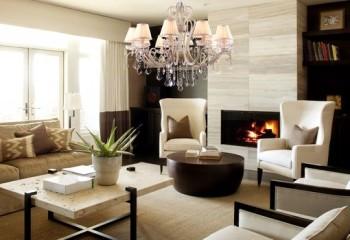 В подвесных люстрах традиционно применяются лампы накаливания