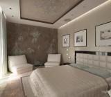 Натяжной потолок в спальне: создание гармоничного интерьера