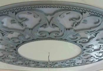 Декорирование потолочной поверхности