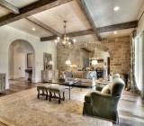 Деревянные балки на потолке — как ценная деталь интерьера