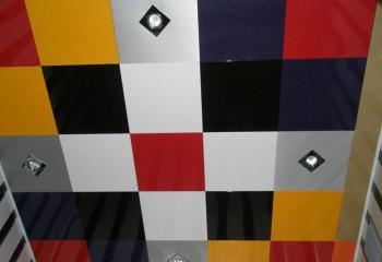 Алюминиевые кассеты с цветным покрытием