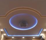 Красивые потолки из гипсокартона: варианты исполнения и тонкости отделки