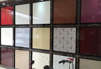 Примеры ламинированных панелей для подвесных кассетных систем