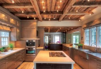 Дизайн балочного потолка