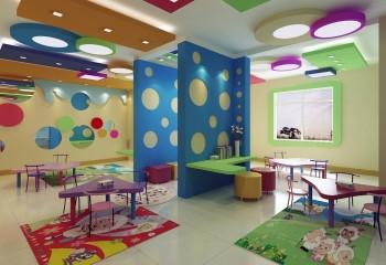 Потолок для детсадовской группы
