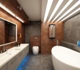 Красивые светильники потолочные для ванной комнаты – выбираем качество и безопасность