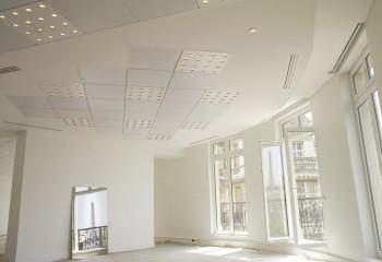 Декоративные панели под встроенную подсветку