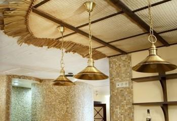 Подшивной тканевый потолок
