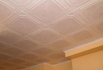 Плитка потолочная «Лагом» из полистирола