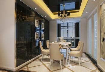 Чёрное стекло в дизайне гостиной