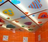Какой сделать потолок в ванной: неординарный подход к дизайну помещения