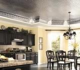 Классический и нетрадиционный дизайн потолков на кухне