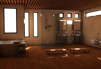 Перфорированный реечный потолок