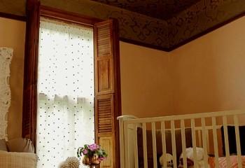 Шелкография в детской спальне
