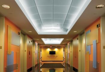 Потолок купольного типа из кассет