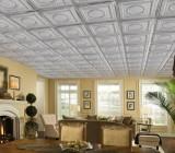 Красивая плитка на потолок – подбираем варианты для качественной отделки