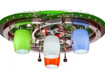 Современный потолочный светильник с дистанционным управлением