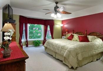 Люстра с вентилятором для спальни