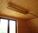 Инфракрасные потолочные обогреватели для дачи: виды и характеристики приборов, советы по выбору и установке