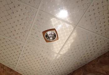 Потолок из пластиковых кассет