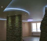 Как сделать натяжной потолок с подсветкой: учимся с нами