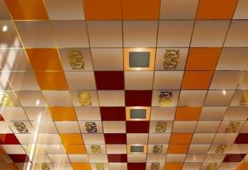 Дизайнерский вариант кассетного потолка