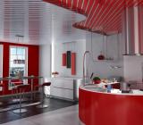 Реечные потолки для кухни: виды покрытий, их свойства, советы по установке
