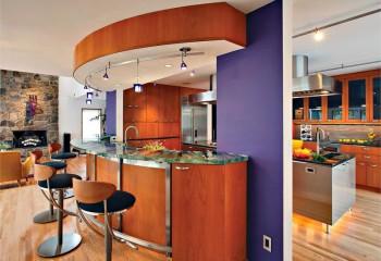 Софиты для подвесного потолка на кухне