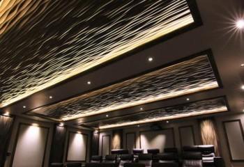 3D фрезеровка потолочных панелей
