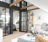 Балки на потолке – не минус, а возможность создать интересный дизайн