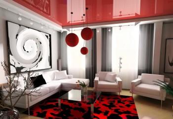 Необычные цветовые решения при грамотном сочетании с аксессуарами и декором создадут неповторимую атмосферу