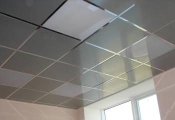 Кассетный металлический потолок