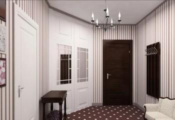 Покраска плинтуса может осуществляться не только в тон потолку, но и в одном стиле со стенами