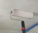 Покраска обоев на потолке своими силами