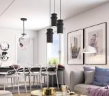 Светильник потолочный подвесной: разновидности приборов и способы их креплений