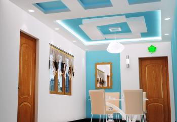 Варианты: потолки из гипсокартона