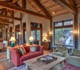 Устройство потолка в деревянном доме: варианты утепления и отделки