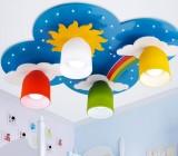 Как установить детские потолочные светильники: создаём ребёнку настроение