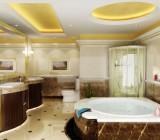 Потолочный плинтус для ванной – обзор  наиболее подходящих материалов