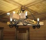 Люстры потолочные из дерева — делаем сами