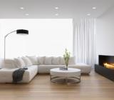 Белый матовый натяжной потолок – свойства материала и его монтаж
