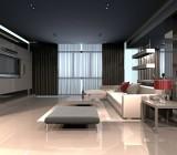 Серый натяжной потолок – особенности выбора