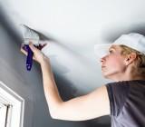 Как побелить потолок — самый простой и дешевый способ отделки